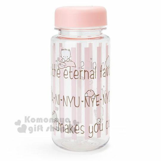 〔小禮堂〕許願貓 隨身冷水壺《粉膚.條紋.450ml》三麗鷗粉色系列 0