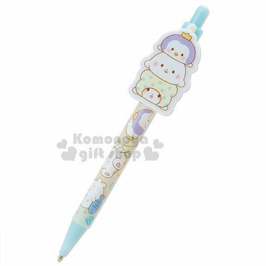 〔小禮堂〕抹布熊 日製自動鉛筆《黃藍.疊疊樂.躺.睡覺》 0
