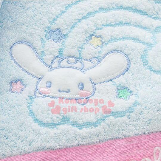 〔小禮堂〕大耳狗 日製純棉大浴巾《藍紫.木馬.彩虹.天空》今治毛巾 2
