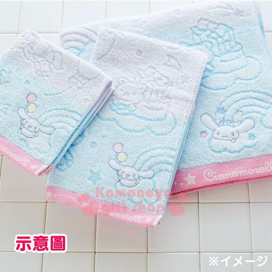 〔小禮堂〕大耳狗 日製純棉大浴巾《藍紫.木馬.彩虹.天空》今治毛巾 3