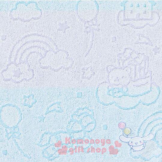 〔小禮堂〕大耳狗 日製純棉長毛巾《紫藍.條紋.彩虹.房屋.棒棒糖》今治毛巾 1