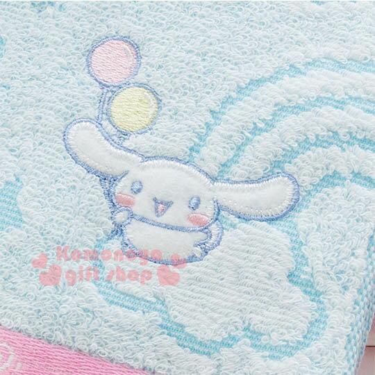 〔小禮堂〕大耳狗 日製純棉長毛巾《紫藍.條紋.彩虹.房屋.棒棒糖》今治毛巾 2
