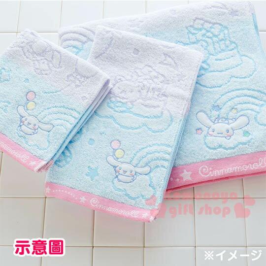〔小禮堂〕大耳狗 日製純棉長毛巾《紫藍.條紋.彩虹.房屋.棒棒糖》今治毛巾 3