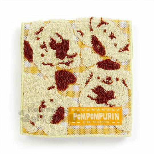 〔小禮堂〕布丁狗毛巾布收納袋《黃.滿版.櫻桃.格紋》生理包.暖暖包袋.無撚系毛巾