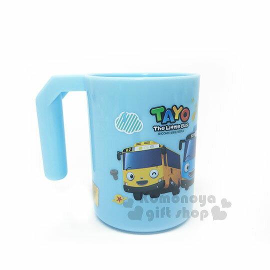 〔小禮堂〕韓國小巴士TAYO 塑膠牙刷杯《藍.紅綠燈》漱口杯.水杯