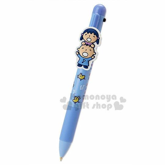 〔小禮堂〕大寶日製多色原子筆《藍.音符》0.5mm.三色筆.淘氣朋友系列