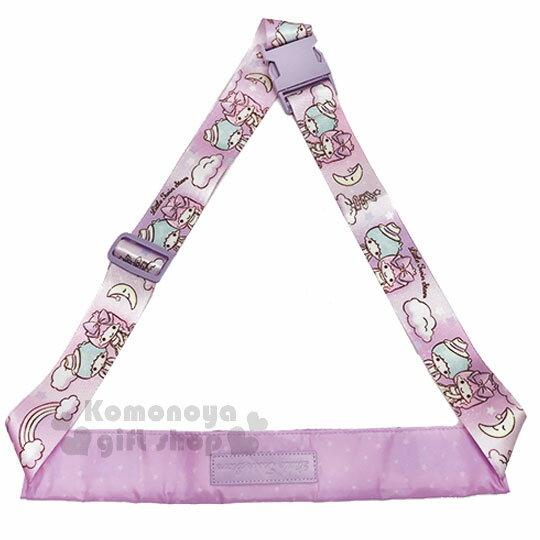 〔小禮堂〕雙子星 兩用行李束帶《紫.滿版》可變側背袋.旅行箱束帶.綁帶 0