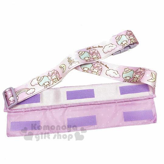 〔小禮堂〕雙子星 兩用行李束帶《紫.滿版》可變側背袋.旅行箱束帶.綁帶 1