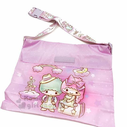 〔小禮堂〕雙子星 兩用行李束帶《紫.滿版》可變側背袋.旅行箱束帶.綁帶 2