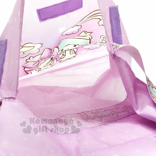 〔小禮堂〕雙子星 兩用行李束帶《紫.滿版》可變側背袋.旅行箱束帶.綁帶 3