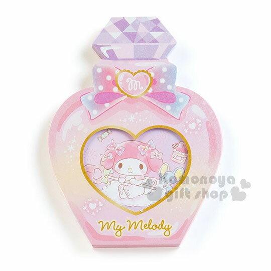 〔小禮堂〕美樂蒂 日製造型香水便條本《粉.老鼠》3種圖案.便條紙 1