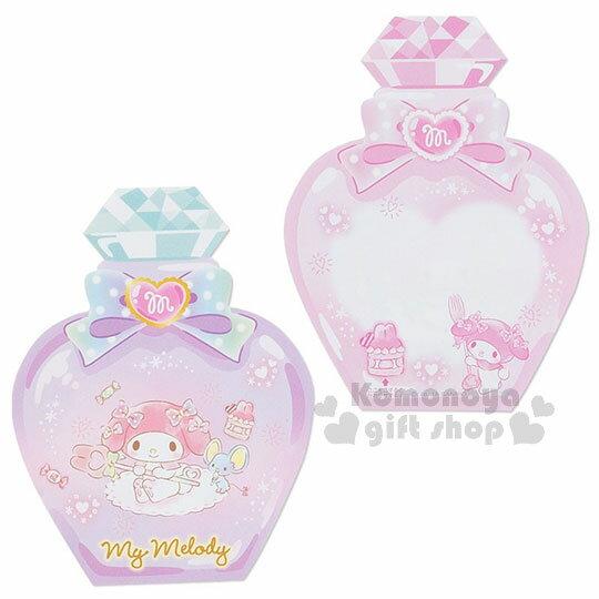 〔小禮堂〕美樂蒂 日製造型香水便條本《粉.老鼠》3種圖案.便條紙 2