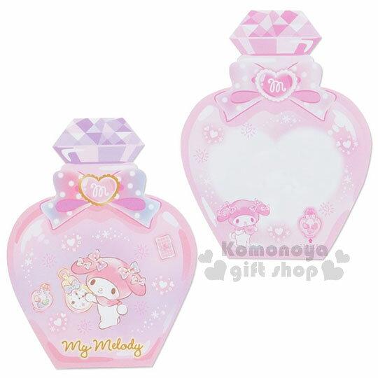 〔小禮堂〕美樂蒂 日製造型香水便條本《粉.老鼠》3種圖案.便條紙 3