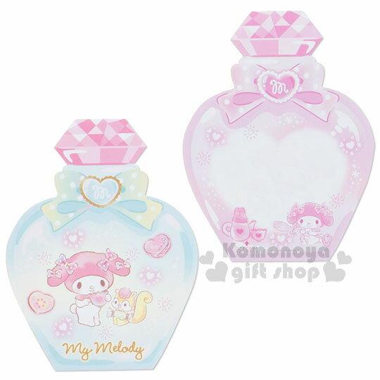 〔小禮堂〕美樂蒂 日製造型香水便條本《粉.老鼠》3種圖案.便條紙 4