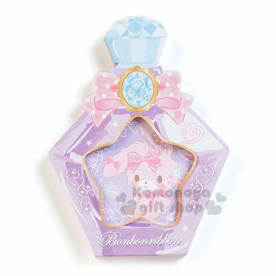 〔小禮堂〕蹦蹦兔 日製造型香水便條本《紫.蝴蝶結》3種圖案.便條紙 1