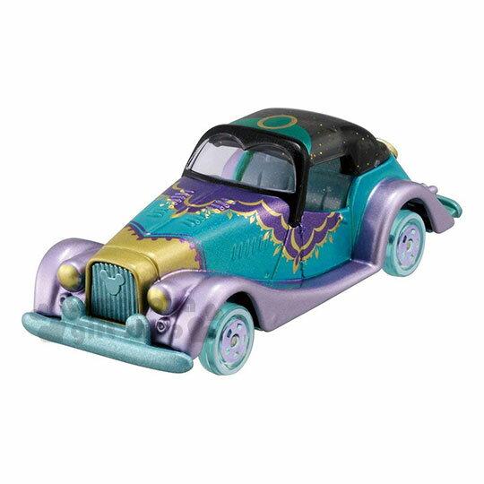 〔小禮堂〕迪士尼茉莉公主TOMICA小汽車《藍綠.金龜車》模型.玩具.公仔