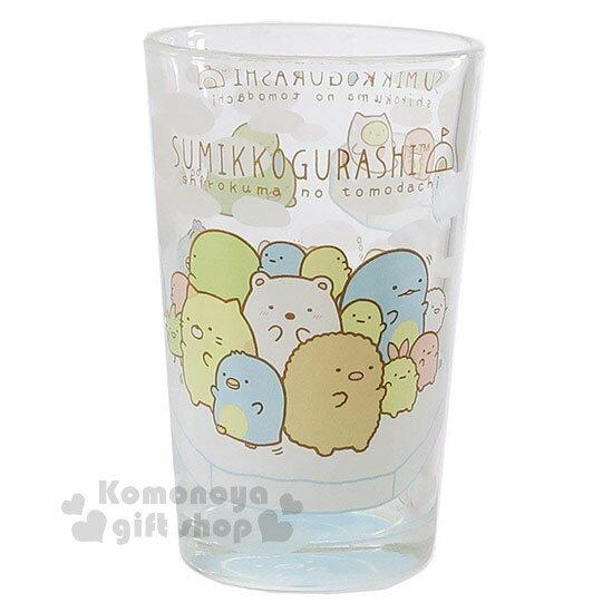〔小禮堂〕角落生物玻璃杯《透明.北極.釣魚》水杯.精美盒裝