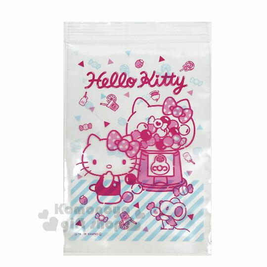 〔小禮堂〕Hello Kitty 透明夾鏈袋《L.10入.紅.糖果》拉鍊袋.分裝袋.銅板小物 2