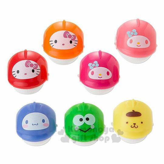 〔小禮堂〕Sanrio大集合 釣魚玩具機《粉.雙魚池》盒裝.多人玩具 4