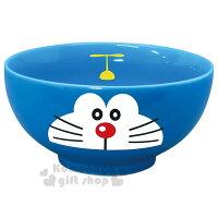 小叮噹週邊商品推薦〔小禮堂〕哆啦A夢 日製陶瓷碗《藍.大臉》飯碗.精緻盒裝.日本金正陶器