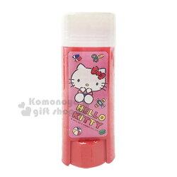 〔小禮堂〕Hello Kitty 方形口紅膠《紅.坐姿.玩具》膠水.黏貼用品.學童文具