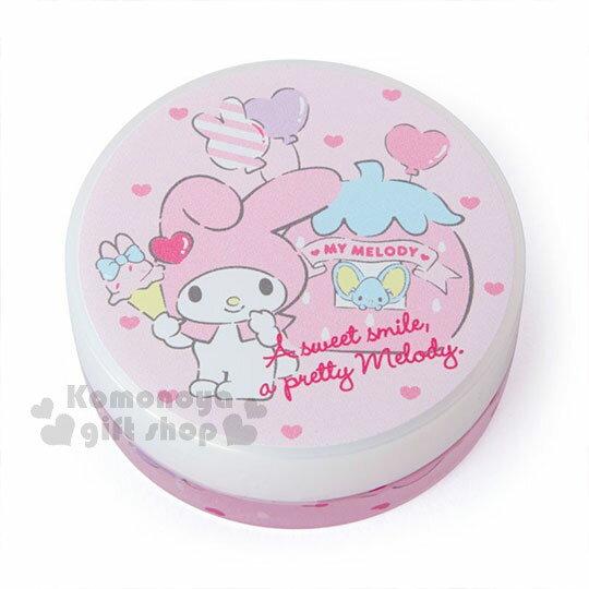 〔小禮堂〕美樂蒂 日製圓盒香氛護手霜《粉.草莓》玫瑰香.護手乳.手部保養 0
