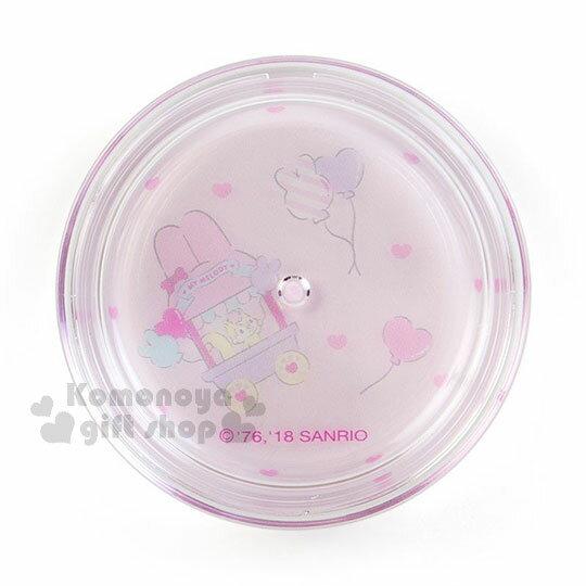 〔小禮堂〕美樂蒂 日製圓盒香氛護手霜《粉.草莓》玫瑰香.護手乳.手部保養 1
