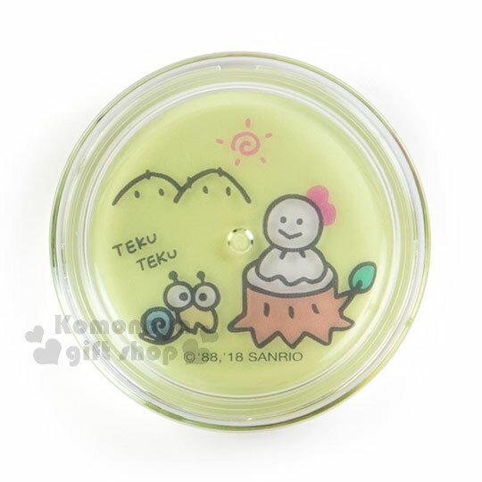 〔小禮堂〕大眼蛙 日製圓盒香氛護手霜《綠.騎車》玫瑰香.護手乳.手部保養 1