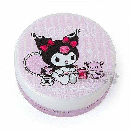 〔小禮堂〕酷洛米 日製圓盒香氛護手霜《粉.看書》玫瑰香.護手乳.手部保養 0