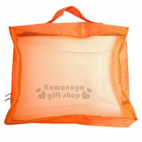 〔小禮堂〕迪士尼 奇奇蒂蒂 尼龍旅行衣物收納袋《L.橘.松果.水果》盥洗袋.收納包 1