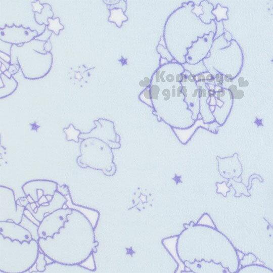 〔小禮堂〕雙子星 造型可收納毛毯披肩《粉藍.趴姿》薄毯.2018溫暖禦冬系列 3