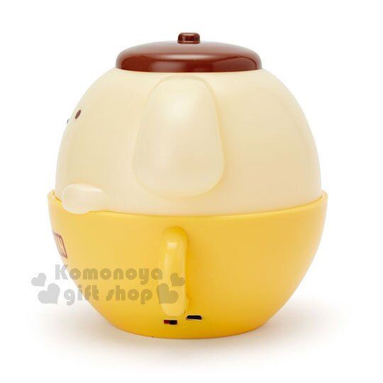 〔小禮堂〕布丁狗 咖啡杯造型LED小夜燈《黃》造型燈飾.床頭燈.USB兩用 1