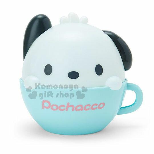 〔小禮堂〕帕恰狗 咖啡杯造型LED小夜燈《藍白》造型燈飾.床頭燈.USB兩用 0
