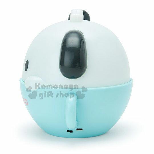 〔小禮堂〕帕恰狗 咖啡杯造型LED小夜燈《藍白》造型燈飾.床頭燈.USB兩用 1