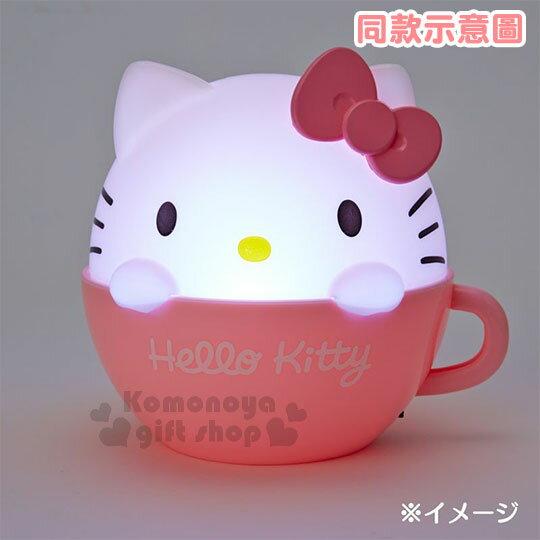 〔小禮堂〕帕恰狗 咖啡杯造型LED小夜燈《藍白》造型燈飾.床頭燈.USB兩用 3
