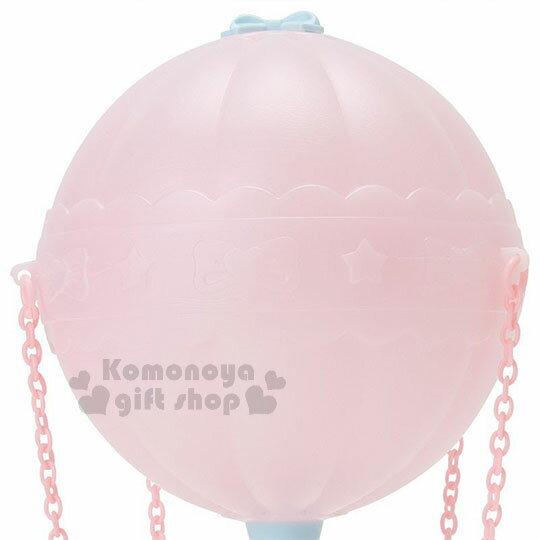 〔小禮堂〕雙子星 熱氣球造型LED小夜燈《粉藍》造型燈飾.床頭燈.USB兩用 3
