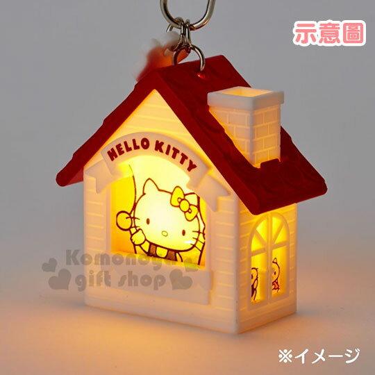 〔小禮堂〕酷洛米 房屋造型LED吊飾燈《紫》掛飾.鑰匙圈 4