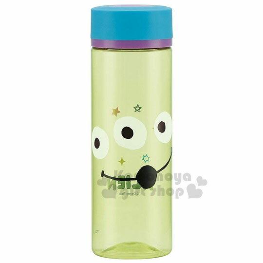 〔小禮堂〕迪士尼 三眼怪 隨身冷水瓶《綠藍.大臉》400ml.水壺