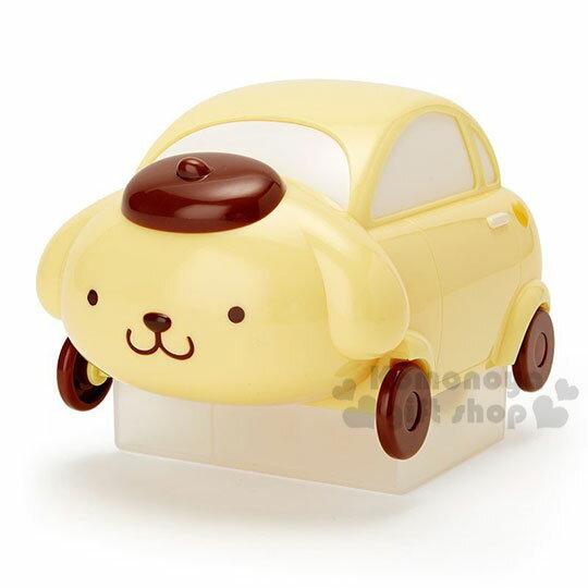 〔小禮堂〕布丁狗 汽車造型除塵滾輪《黃》除塵滾筒.除塵刷.黏毛器 0