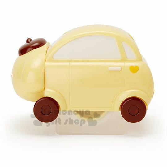 〔小禮堂〕布丁狗 汽車造型除塵滾輪《黃》除塵滾筒.除塵刷.黏毛器 1