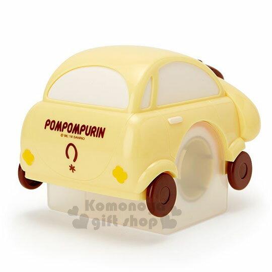 〔小禮堂〕布丁狗 汽車造型除塵滾輪《黃》除塵滾筒.除塵刷.黏毛器 2