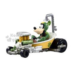 〔小禮堂〕迪士尼 高飛 TOMICA小汽車《棕綠.賽車.MRR-03》公仔.玩具.模型