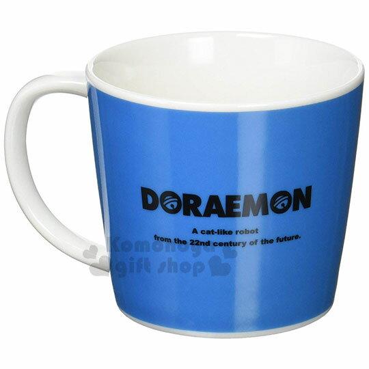 小禮堂 哆啦A夢 日製陶瓷馬克杯《藍.大臉》茶杯.咖啡杯.金正陶器