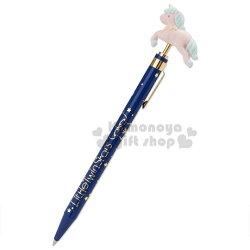 〔小禮堂〕雙子星 日製造型自動原子筆《深藍》自動筆.黑筆.迷夜星辰系列