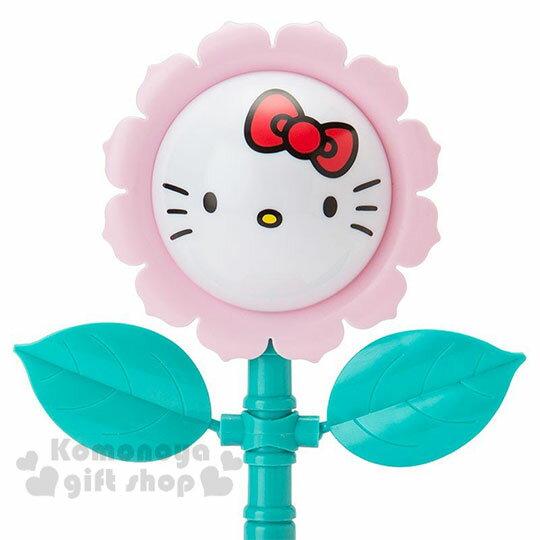 〔小禮堂〕Hello Kitty 盆栽造型聲動存錢筒《粉》擺飾.撲滿.儲金筒.精緻盒裝 2