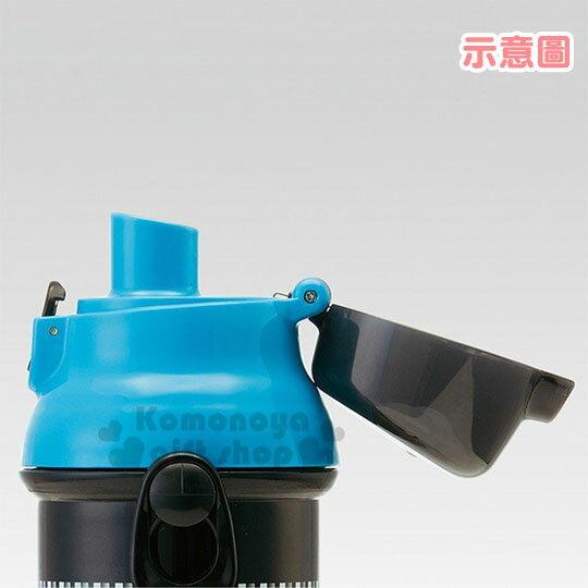〔小禮堂〕神奇寶貝Pokémon 皮卡丘 日製直飲式水壺附背帶《黃藍.角色》480ml.水瓶.兒童水壺 3