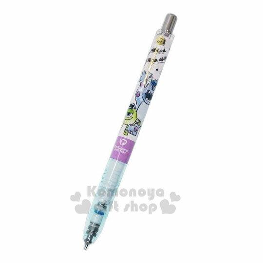 〔小禮堂〕迪士尼 怪獸大學 日製自動鉛筆《綠白.吼叫》0.5mm.自動筆.DelGuard系列