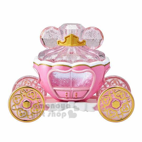 〔小禮堂〕迪士尼 睡美人 TOMICA小汽車水晶南瓜馬車《粉》珠寶車.公仔.玩具.模型 2
