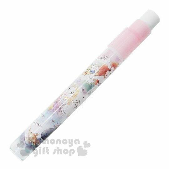 〔小禮堂〕迪士尼 公主 日製鉛筆輔助軸《粉.寶石》鉛筆延長器.學童文具