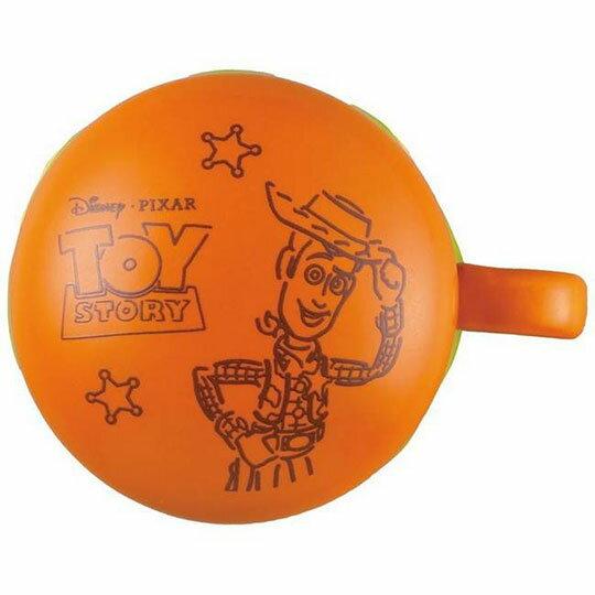 〔小禮堂〕迪士尼 玩具總動員 漢堡造型陶瓷馬克杯附蓋《棕》350ml.咖啡杯.茶杯 1